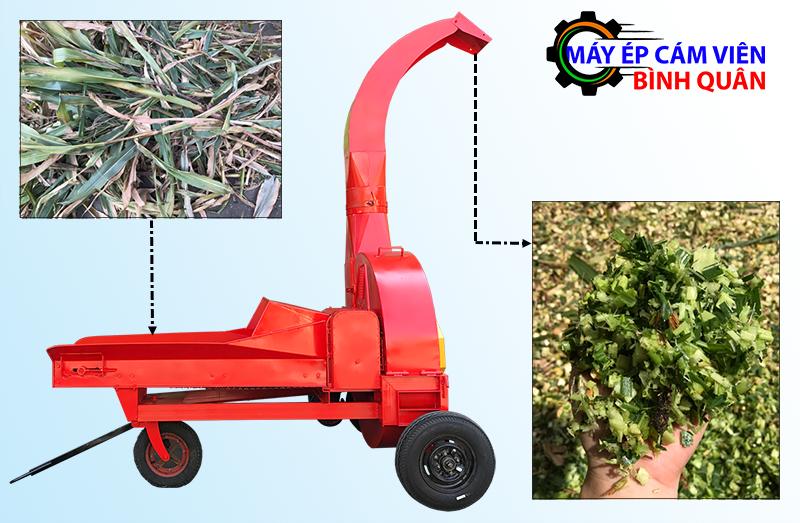 máy băm cỏ công nghiệp